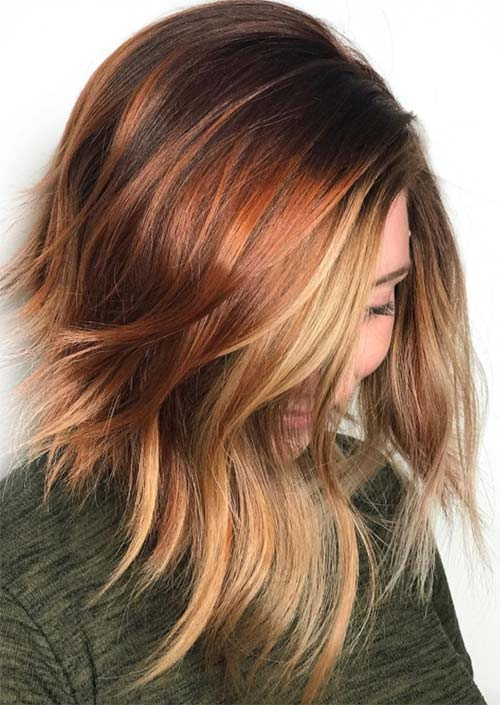 Coolest Winter Hair Colors To Embrace In 2018 Fashionre