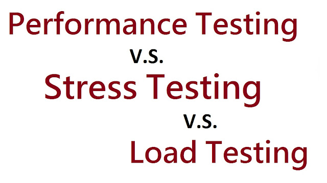 Performance VS Load VS Stress Testing