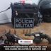 Polícia militar apreende duas armas de fogo e uma moto roubada, fato ocorrido no bairro Dom José