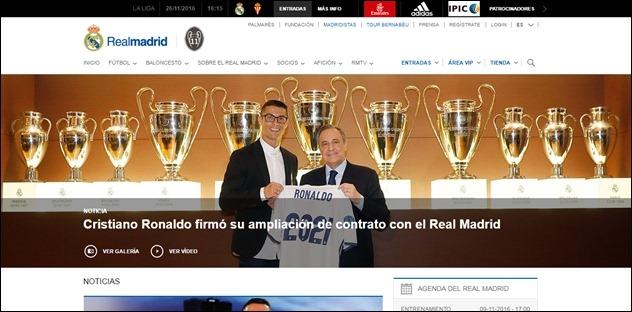 Abrir mi cuenta en Real Madrid