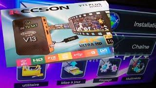 إصلاح وتحويل جهاز Recson V13 0518513 الى REDvision P12 Plus بمينيو رائع ومميزات جديدة#ريكصون #ريكسون