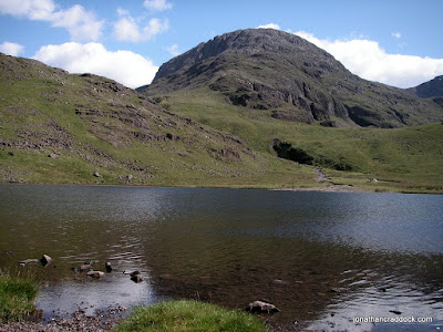 Great End seen from Styhead Tarn