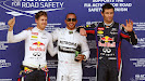 Top 3 qualifiers: 1. Hamilton 2. Vettel 3. Webber