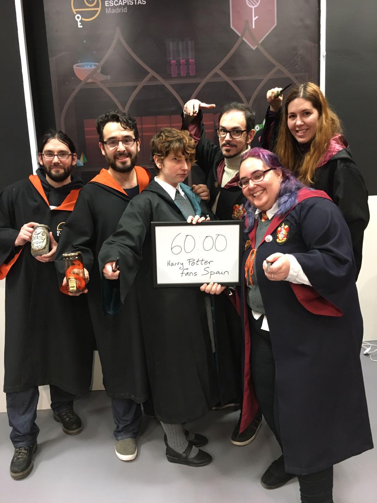 Escape Room Los Escapistas Harry Potter Madrid
