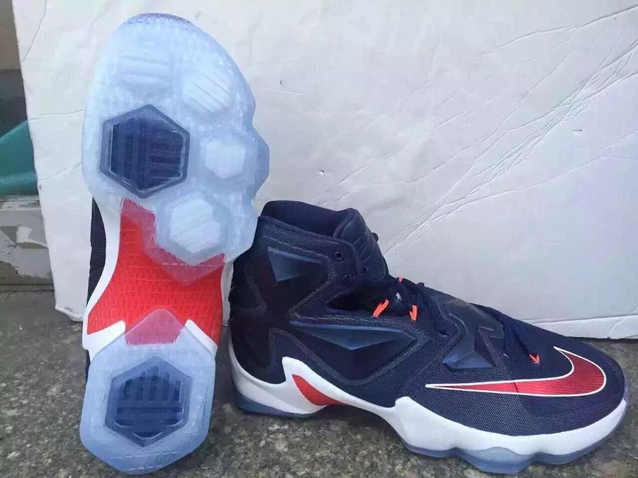 pretty nice a975d 7489f ... In 2016 Nike LeBron 13 Gets All Patriotic on Us ...