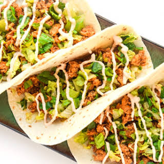 Chipotle Lime Chicken Tacos.