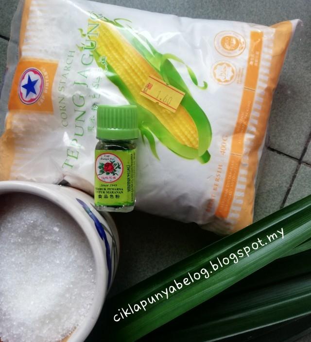 Resepi kuih tako simple guna bahan apa yang ada je dekat dapur tu.