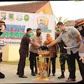 Forkopimda Kota Mojokerto Kampanyekan Jatim Bermasker