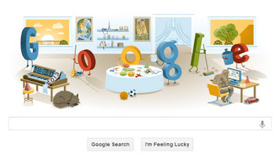 """new year 2013 google doodle"""