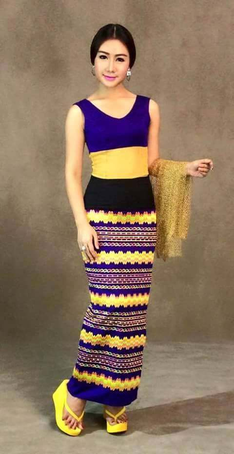 Myanmar fashion for women 2016 2017