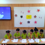 Celebration of Star Day by Nursery Section (2017-18) at Witty World Bangur Nagar