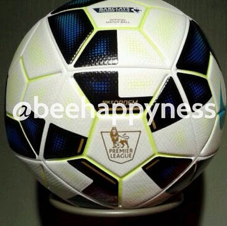 The new Ordem ball for EPL season 2014-14 has been leaked and here are