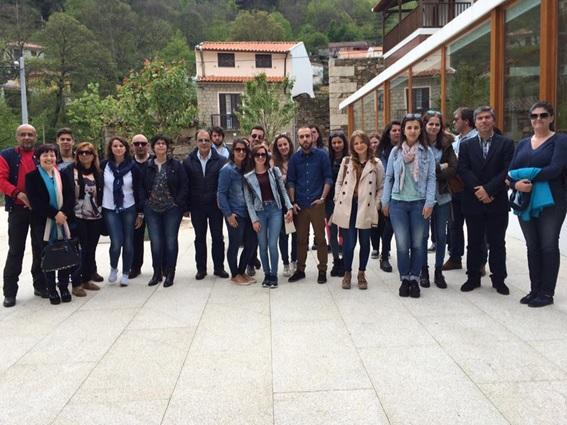Alunos e professores da ESTGL visitaram o CIMI