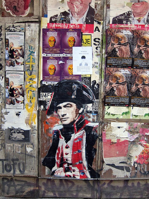 CAPTAIN HORATIO HORNBLOWER (Raoul Walsh, 1951) by artist BTOY in Barcelona, Catalonia www.streetartcinema.com...