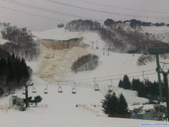 Avalanche Japon , secteur Naeba, Riesen Course - Photo 1 - © Snow Japan