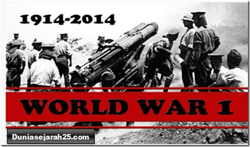 Perang Dunia I dan Terbentuknya Liga Bangsa-Bangsa