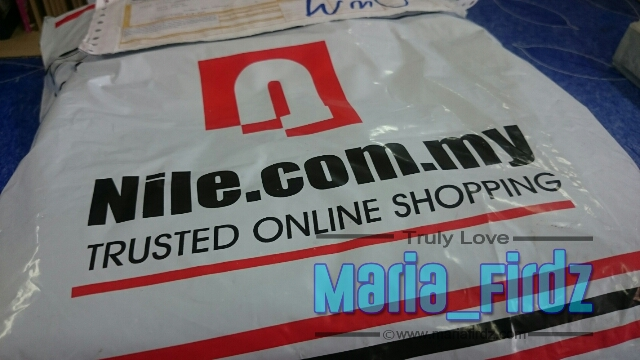 Pengalaman Shopping di Nile.com.my