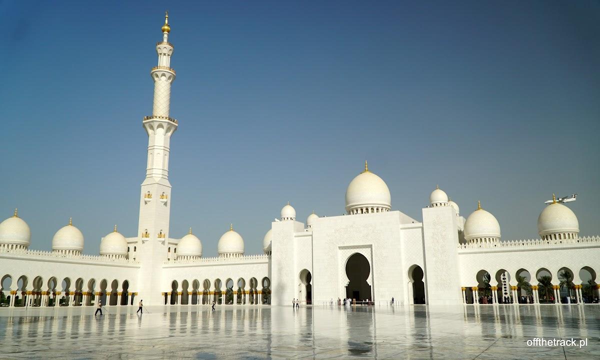 Meczet Szejka Zayeda w Abu Dhabi, Zjednoczone Emiraty Arabskie
