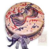 66. kép: Ünnepi torták - Farsangi álarc torta