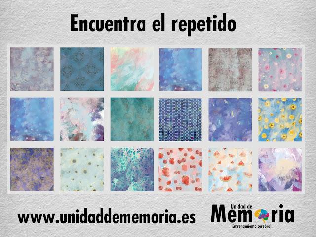 Unidad De Memoria Entrenamiento Cerebral Encuentra El