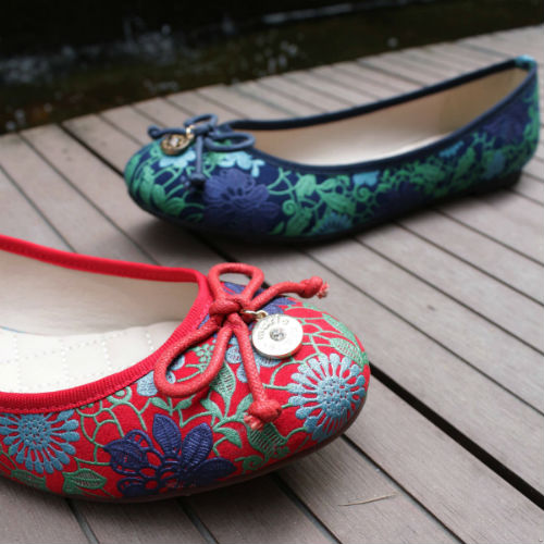 Bata Multicolor Flat Shoes