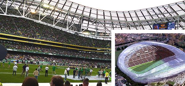 Aviva Stadium à Dublin