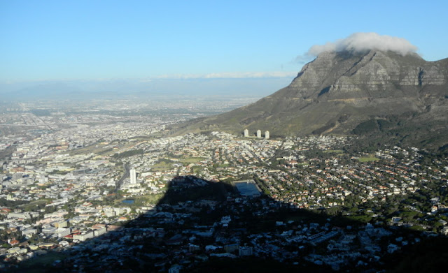 Climbing Lions Head (shadow in foreground)