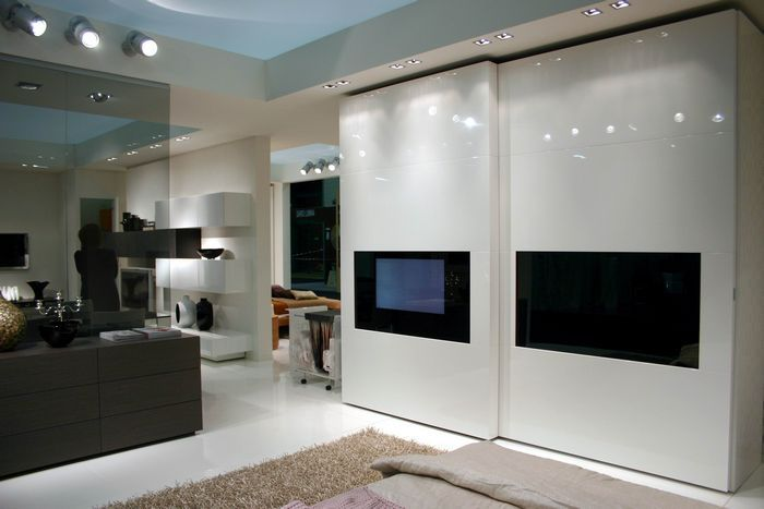 Armadio Con Tv Incorporata ~ Idea Creativa Della Casa e Dell ...