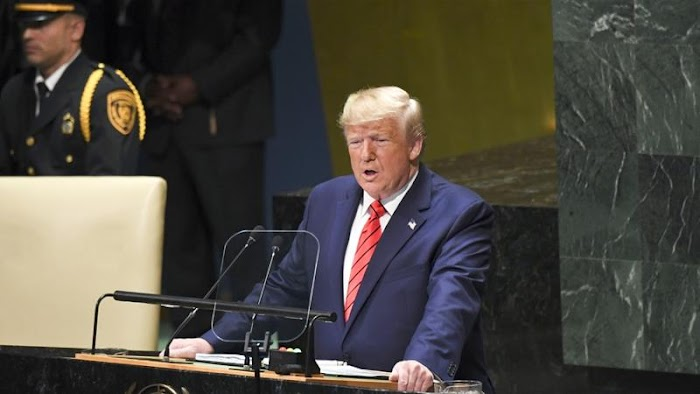 'No government should subsidise Iran's bloodlust' - Trump at UNGA