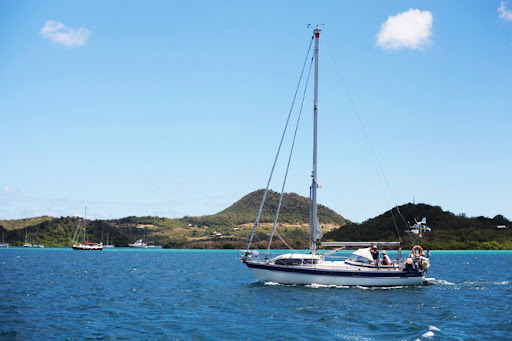 It is quite common to see other models of the Hallberg Rassy's sailing all ...