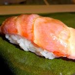 Ootoro sushi at Sukiyabashi Jiro at $30 per piece but an amazing experience in Roppongi, Tokyo, Japan