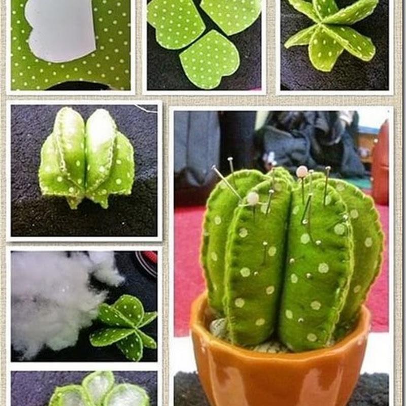 Hacer un cactus de papel, manualidades