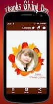 Thanksgiving profile pic Frame - screenshot thumbnail 02