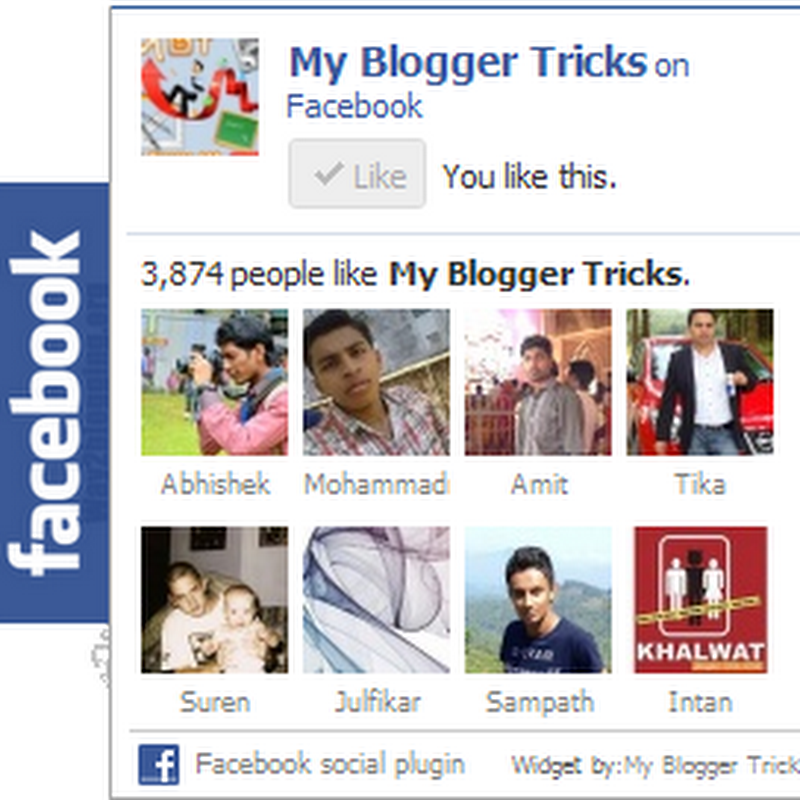 Facebook LikeBox Flutuante Para Blogger