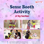 Sense Booth Activity Organized by Jr. Kg Section (2018-19), Witty World , Goregoan East