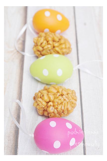 Wielkanocne jajeczka z krówkami