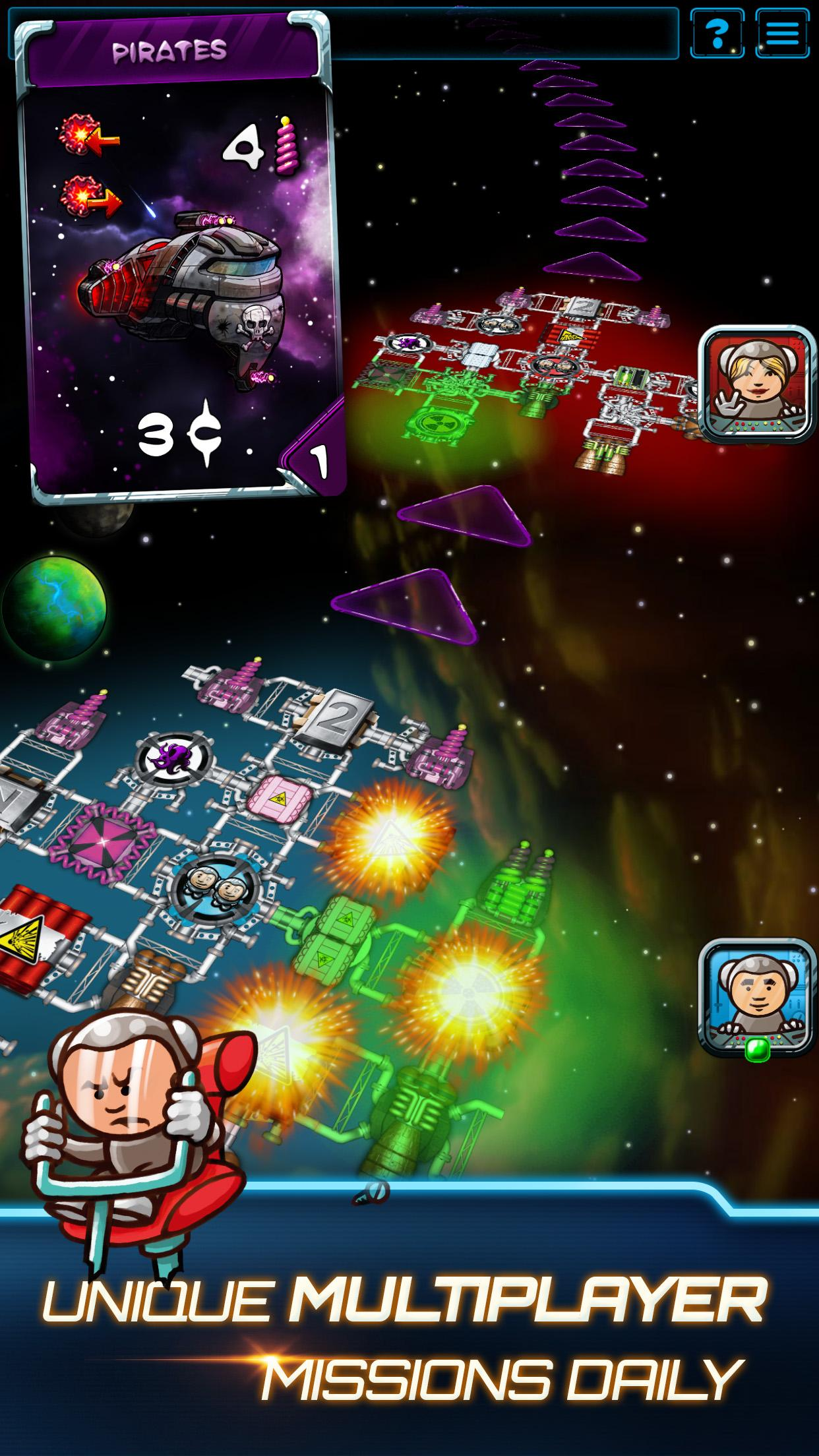 Galaxy Trucker screenshot #4