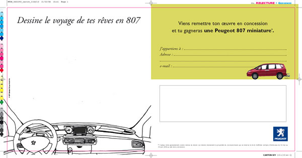 exécution mailing