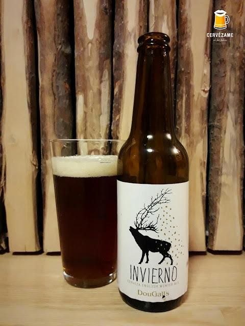 cerveza beer Dougall´s Invierno cervezame