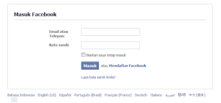 hack akun facebook