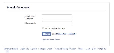 hack akun facebook