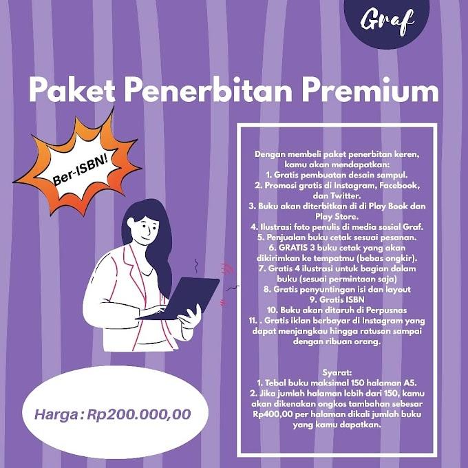 Paket Penerbitan Premium (Rp200.000,00)