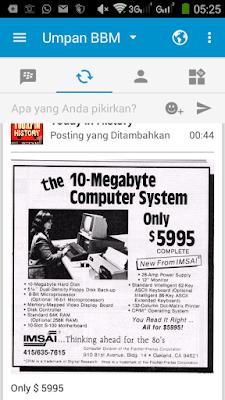 Komputer Tahun 80-an Seharga 77 Juta