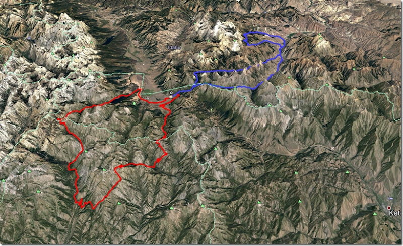 LB  map