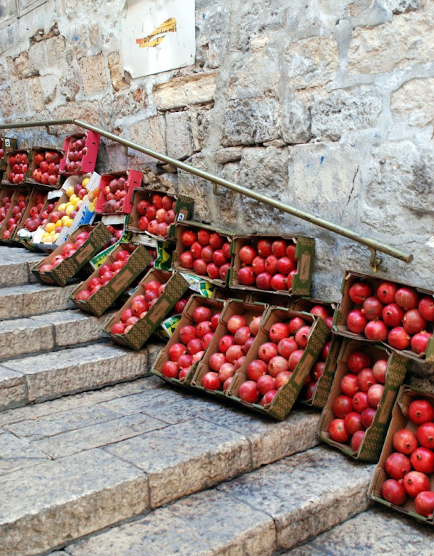 pomegranates in jerusalem