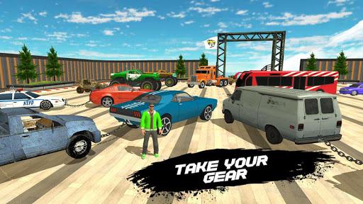 Double Impossible Mega Ramp 3D - Car Jump & Drift  screenshots 7