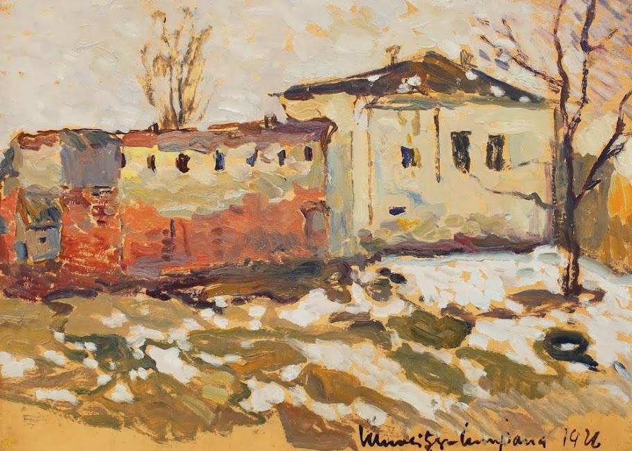 Rudolf Schweitzer-Cumpăna - Sfârșit de iarnă la Gherla