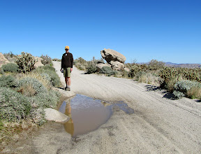 We are always fascinated by water in the Anza Borrego desert