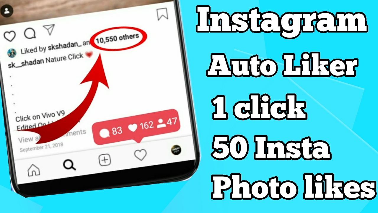 Instagram ke photos par like kaise badhye || insta auto liker best app