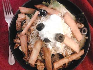 Vegetarian Chicken Taco Bowls 14